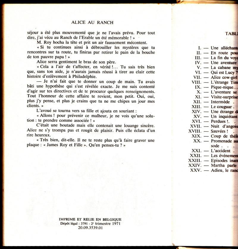 Recherches sur les anciennes éditions d'Alice (Titres 31 à 45) Relevy29