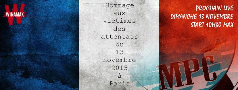 Inscriptions pour le Tournoi du 13 novembre 2016 Annonc13