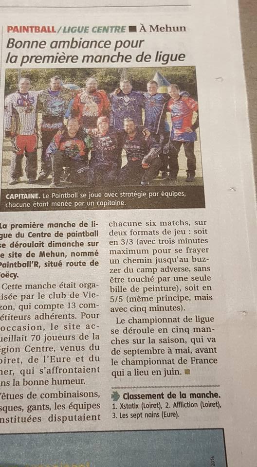 Article Presse / 1ere Manche de Ligue Centre / Berry Républicain Berryr10