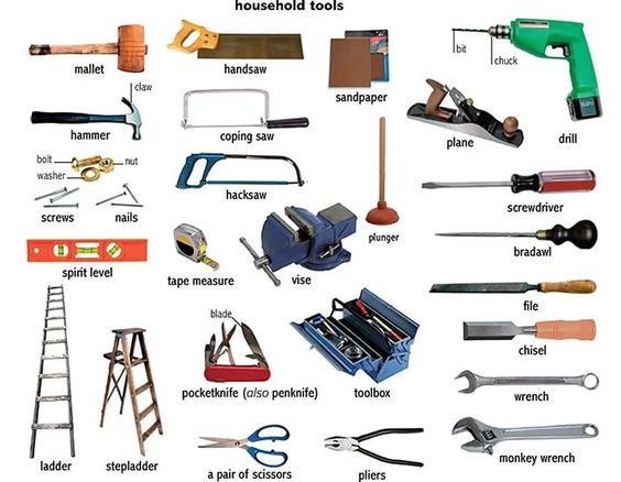 Household tools 00208d10
