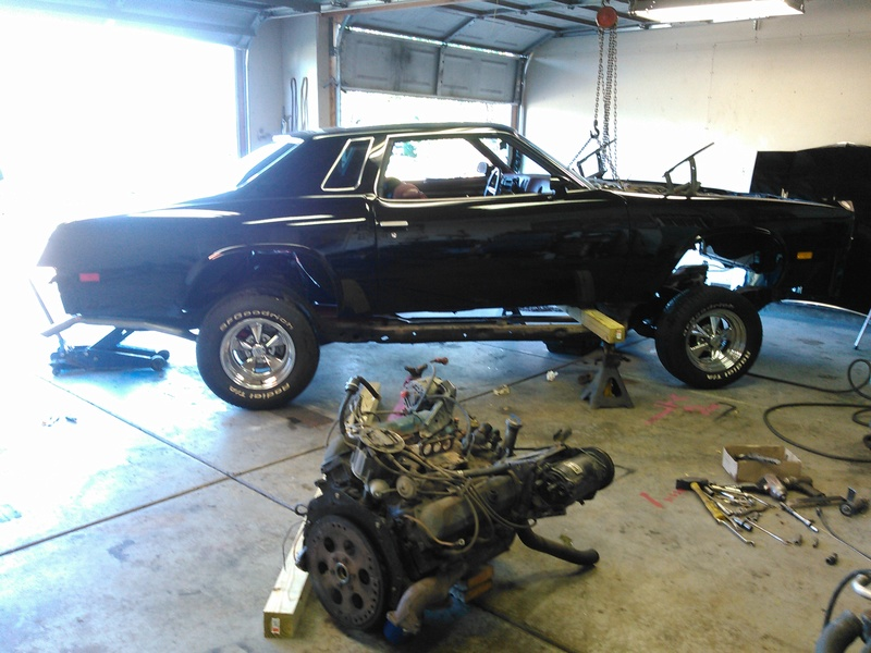 '76 Cutlass High School tribute restoration. Update: frame swap. - Page 4 Frame212