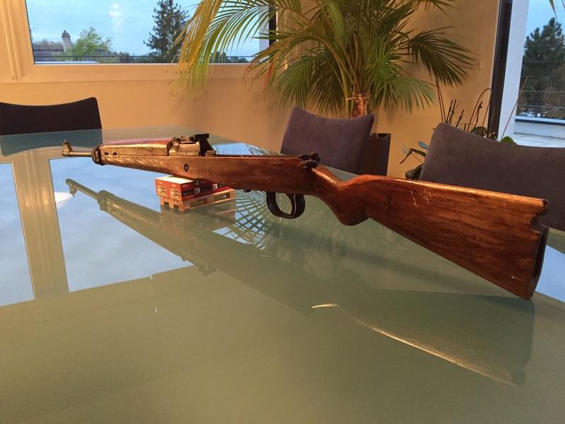 Gewehr 43 à restaurer Img_5413