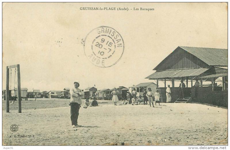 Gruissan, et ses cartes postales anciennes 013_0010