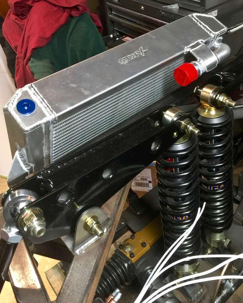 Classic R #27 Build - Cooling System Art-ra12