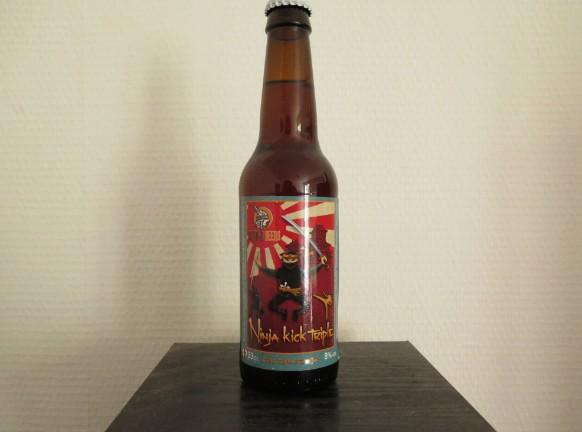 Ninja Kick Triple - Dumnac Beers - Triple - ( Blonde Charpentée )  8°, 33Cl 110