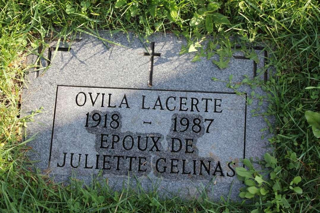 Lacerte Ovila naiss-décès Monume10
