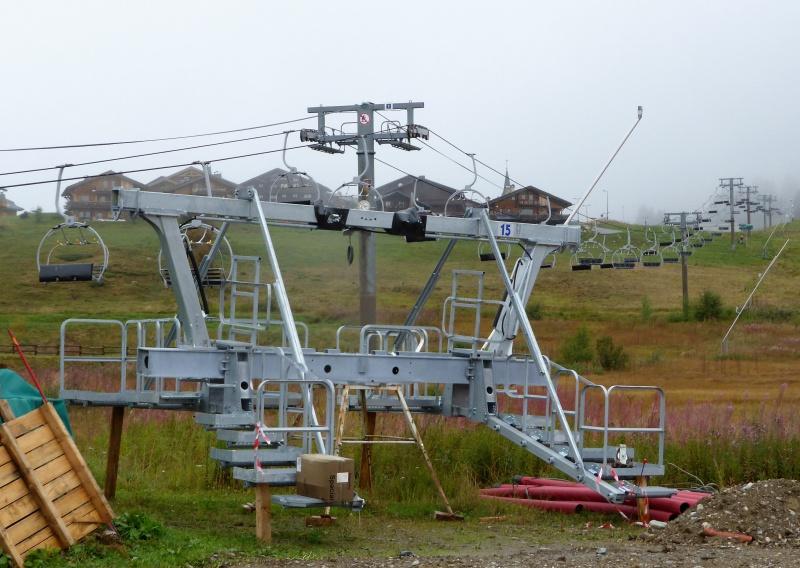 Construction du télésiège débrayable 6 places (TSD6) de Bisanne - Page 2 71734510