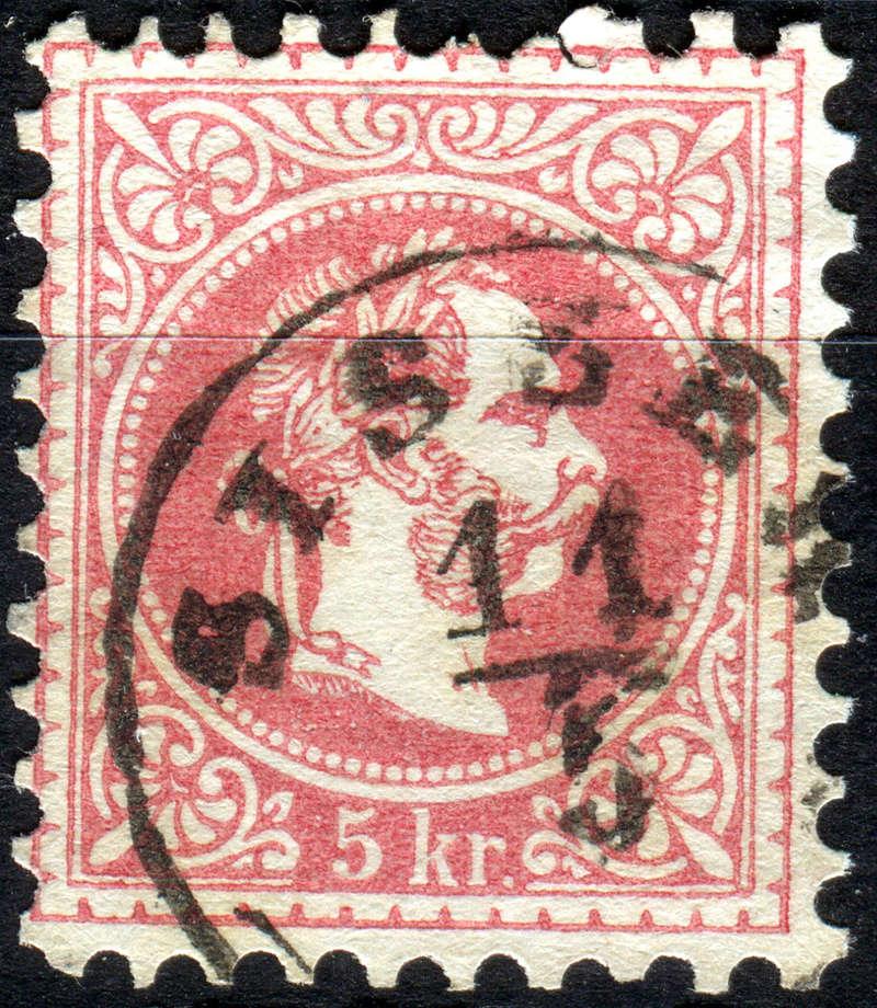 Freimarken-Ausgabe 1867 : Kopfbildnis Kaiser Franz Joseph I - Seite 14 Sissek10