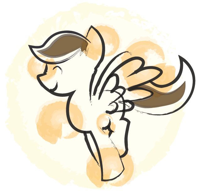 Everypony's Favourite Golden-Spotted Admin Doodle10