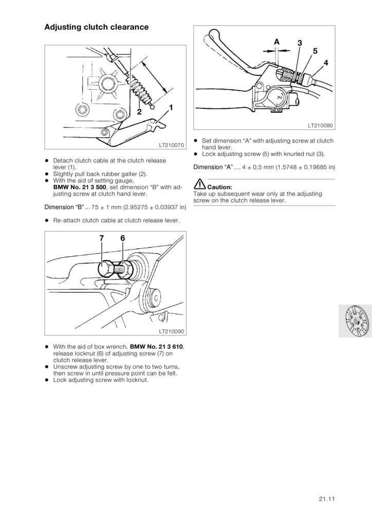 Installing new clutch cable K1100RS advice Img_2410