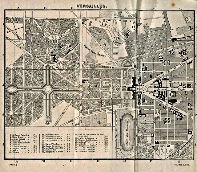 Vues anciennes du Château de Versailles et de son Domaine - Page 2 Mapa-d10