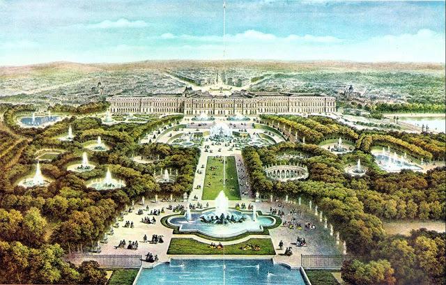 Vues anciennes du Château de Versailles et de son Domaine - Page 2 Versai10