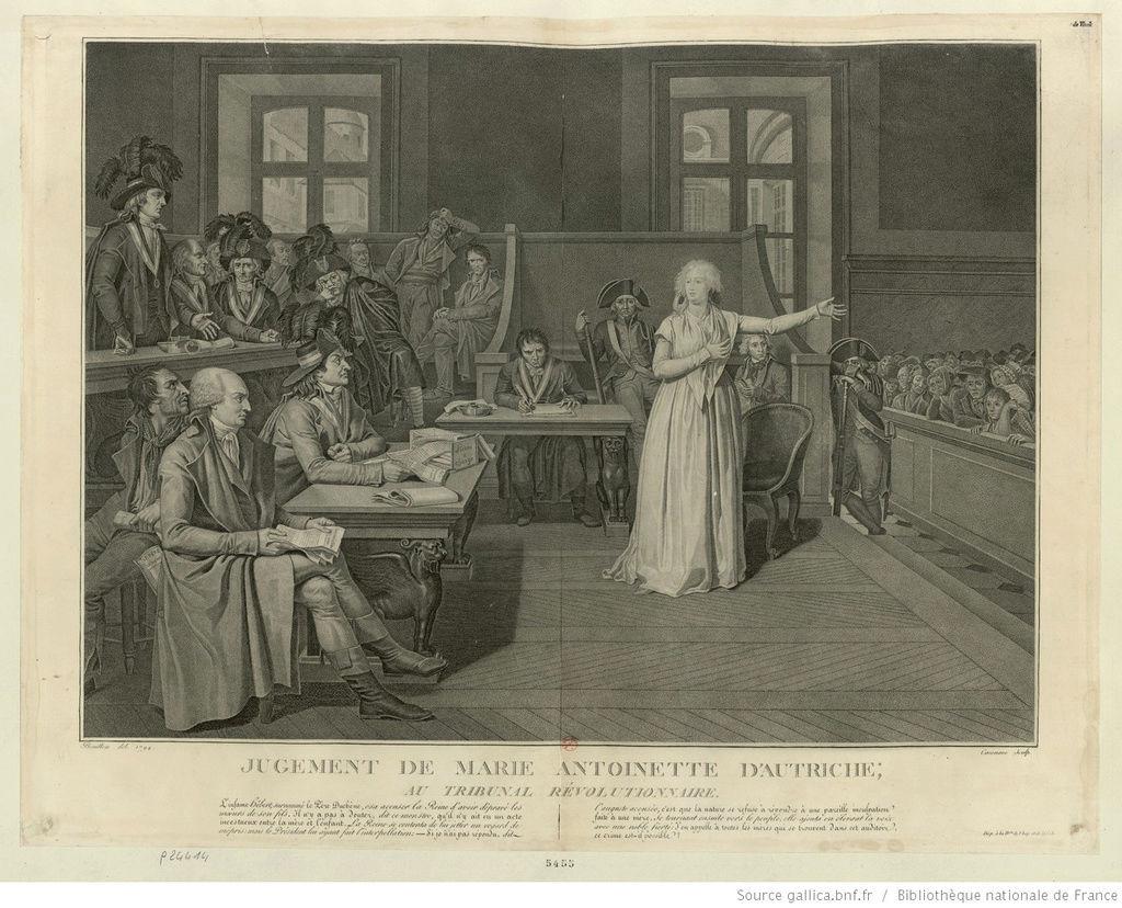 Le procès de Marie-Antoinette: images et illustrations - Page 4 Zgeich10