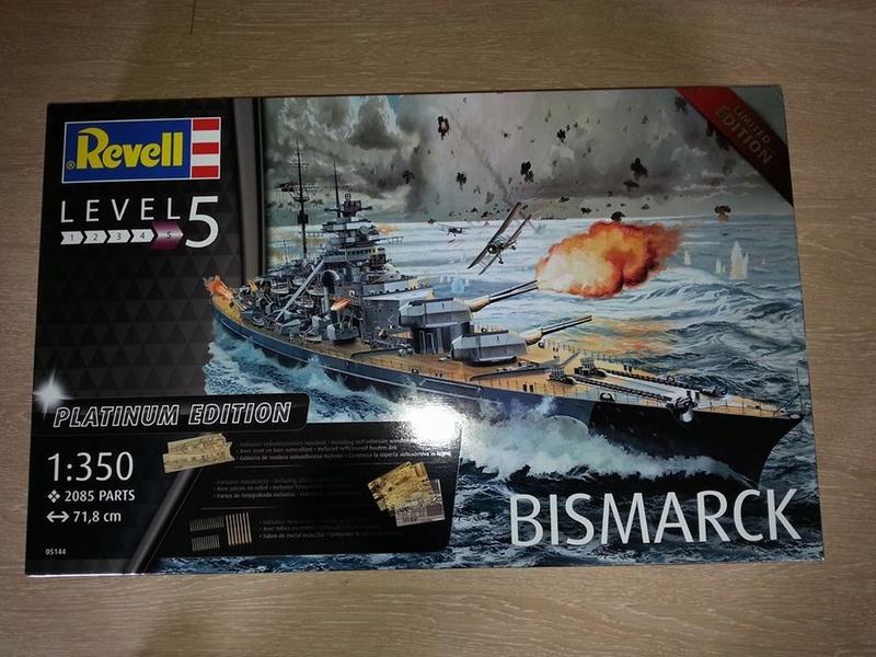 Revell Bismarck 05144 in der Platinum Edition 1:350 mit 2085 Teilen 0110