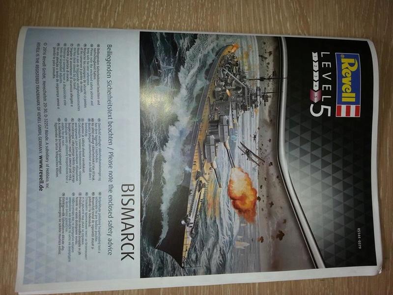 Revell Bismarck 05144 in der Platinum Edition 1:350 mit 2085 Teilen 0210
