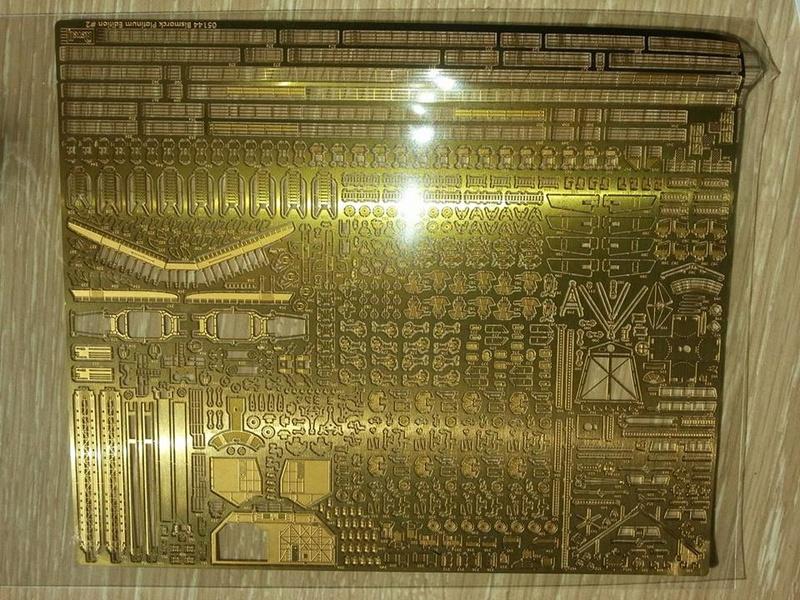 Revell Bismarck 05144 in der Platinum Edition 1:350 mit 2085 Teilen 0410