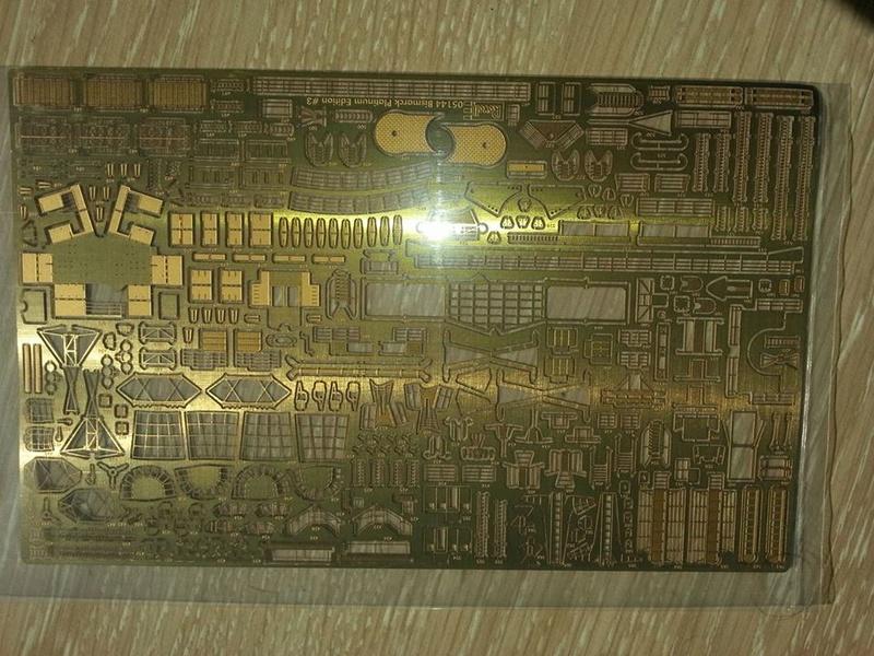 Revell Bismarck 05144 in der Platinum Edition 1:350 mit 2085 Teilen 0610