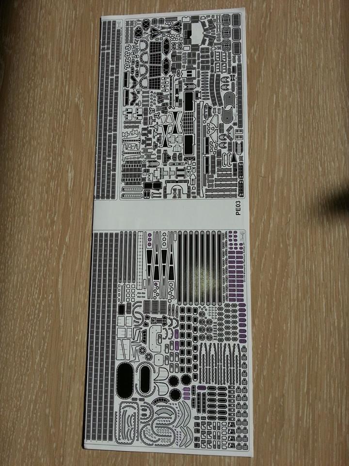 Revell Bismarck 05144 in der Platinum Edition 1:350 mit 2085 Teilen 0810