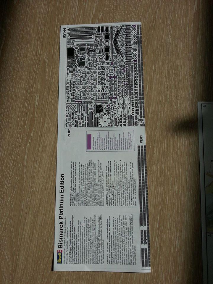 Revell Bismarck 05144 in der Platinum Edition 1:350 mit 2085 Teilen 0910