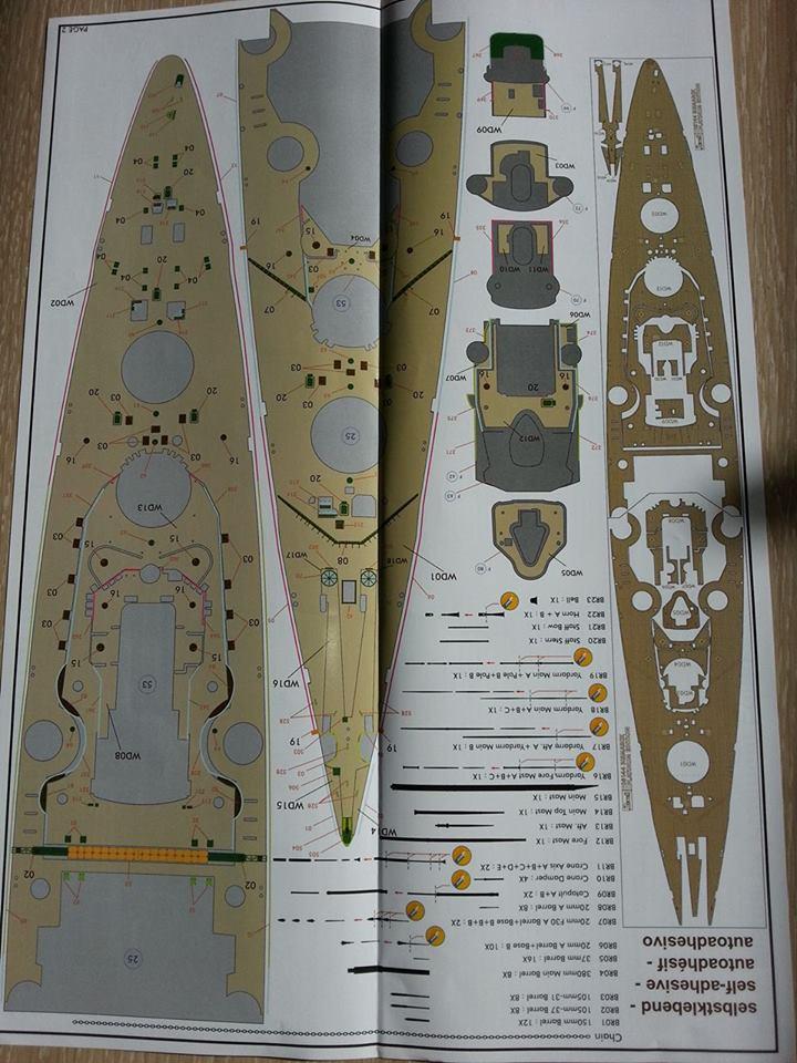 Revell Bismarck 05144 in der Platinum Edition 1:350 mit 2085 Teilen 1110