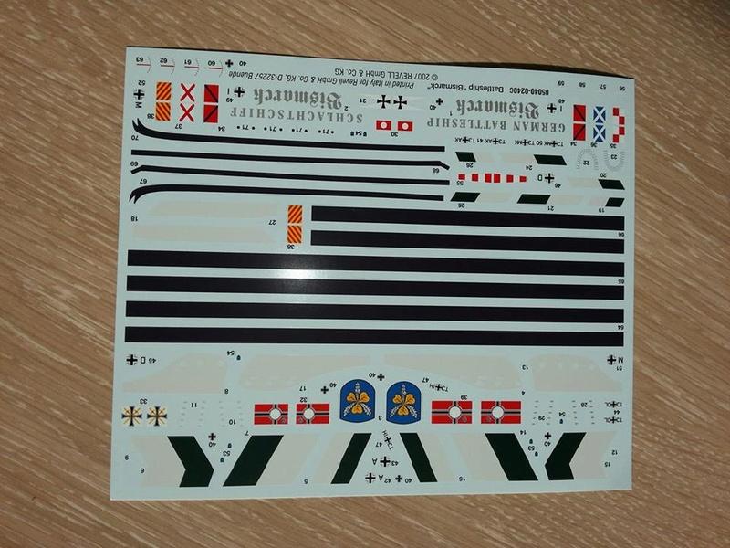Revell Bismarck 05144 in der Platinum Edition 1:350 mit 2085 Teilen 1310
