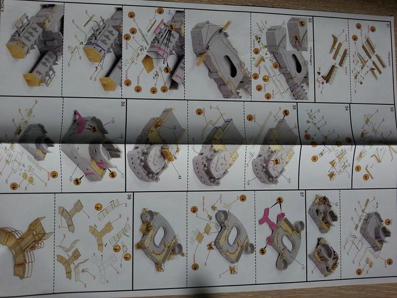 Revell Bismarck 05144 in der Platinum Edition 1:350 mit 2085 Teilen 1410
