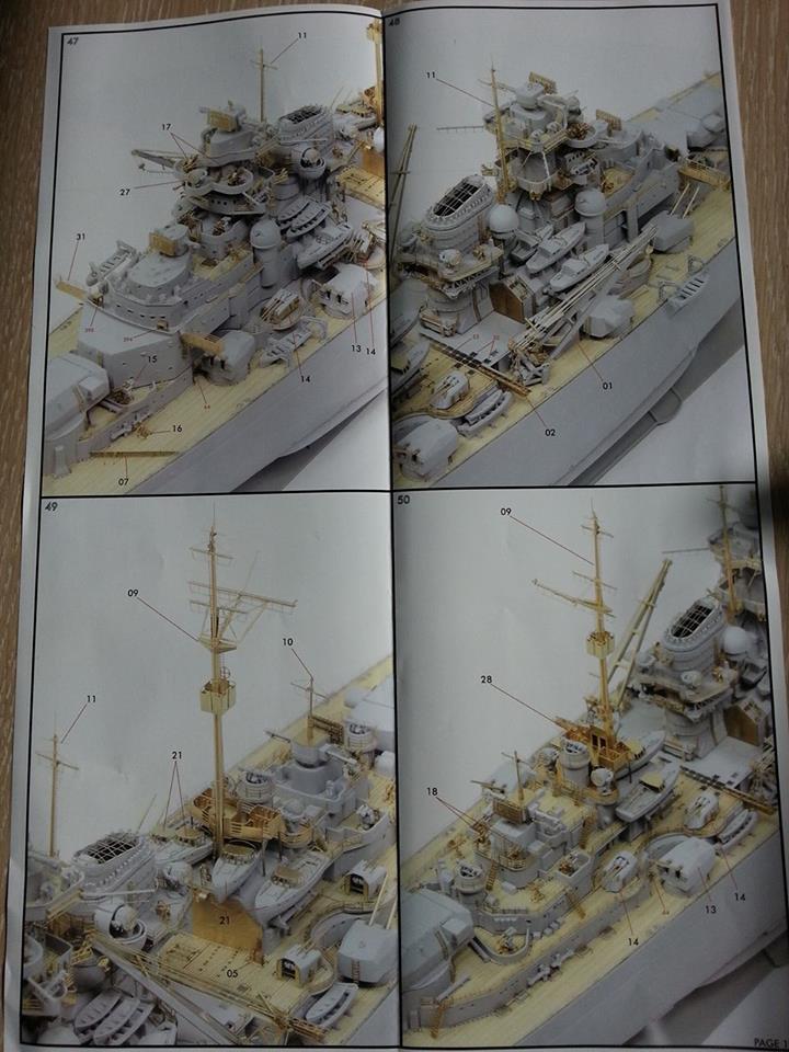Revell Bismarck 05144 in der Platinum Edition 1:350 mit 2085 Teilen 2210