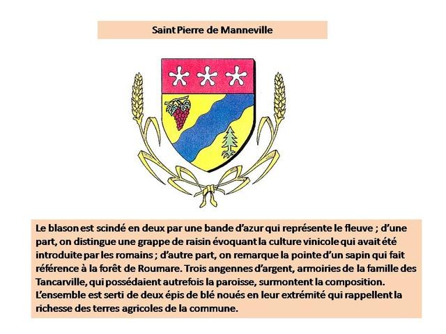 Saint Pierre de Manneville une vraie manne pour les marcheurs Blason10