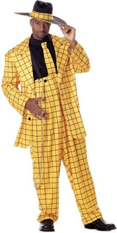 African American Male Trend: The Zoot Suit known to many were first designed by African American tailors/entrepreneurs:  Known for its extravagant design, and was worn by African American  jazz singers and trumpeters entertainers: and swing dancers that w 0d8dab10