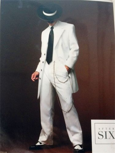 African American Male Trend: The Zoot Suit known to many were first designed by African American tailors/entrepreneurs:  Known for its extravagant design, and was worn by African American  jazz singers and trumpeters entertainers: and swing dancers that w 375_5010