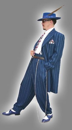African American Male Trend: The Zoot Suit known to many were first designed by African American tailors/entrepreneurs:  Known for its extravagant design, and was worn by African American  jazz singers and trumpeters entertainers: and swing dancers that w 67e58d10
