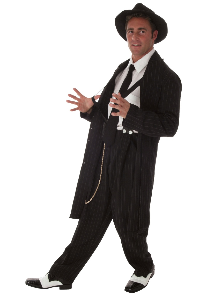 Zoot Suit: The fashion started by African American men and overtime grew popular with white and mexican men.  Once seen by many white and mexican parents as gangsta fashion Black-10