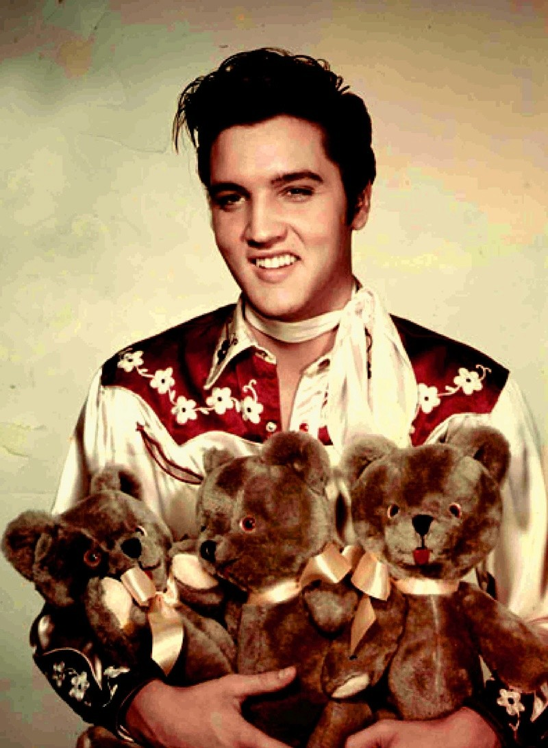 """Elvis Presley The Controversial King Of Rock And Roll that capitalised on Black folk music from the deep south.  In Elvis's own words """"The colored folks been singing it and playing it just like I'm doin' now, man, for more years than I know Elvis-14"""