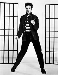 """Elvis Presley The Controversial King Of Rock And Roll that capitalised on Black folk music from the deep south.  In Elvis's own words """"The colored folks been singing it and playing it just like I'm doin' now, man, for more years than I know Elvis_13"""