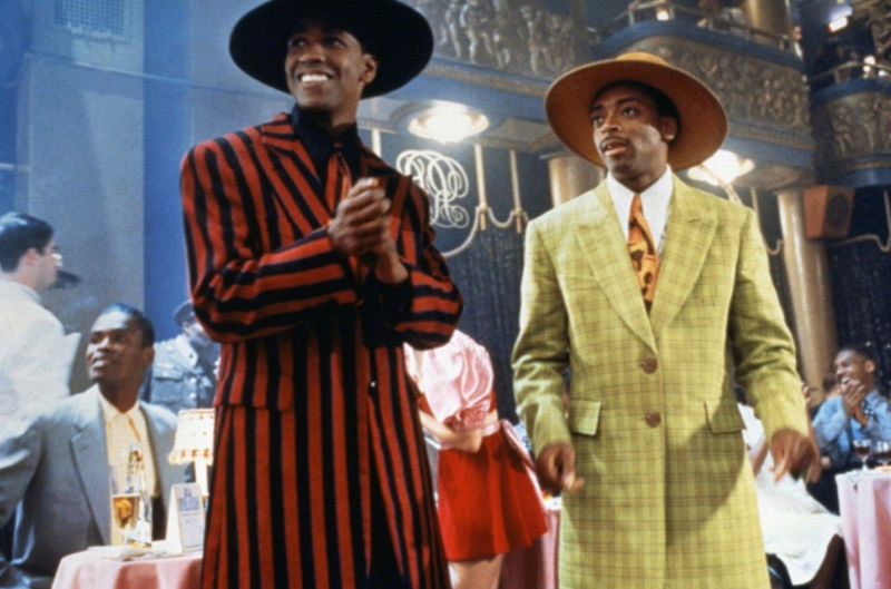 African American Male Trend: The Zoot Suit known to many were first designed by African American tailors/entrepreneurs:  Known for its extravagant design, and was worn by African American  jazz singers and trumpeters entertainers: and swing dancers that w Larger10