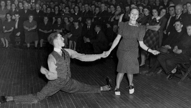 1912 To 1940s dances: The swing, charleston, cake walk, the blues, the break away AND Jitterbug Lindy-11