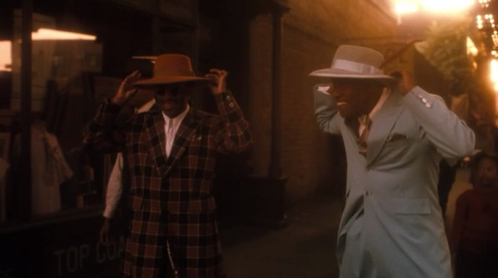 Zoot Suit: The fashion started by African American men and overtime grew popular with white and mexican men.  Once seen by many white and mexican parents as gangsta fashion Strut11