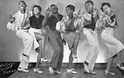 1912 To 1940s dances: The swing, charleston, cake walk, the blues, the break away AND Jitterbug Whitey10