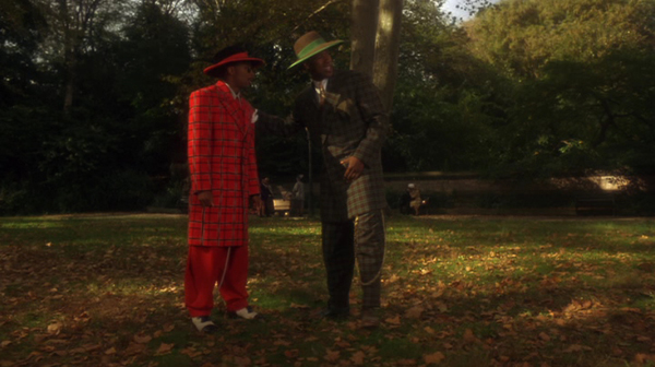 African American Male Trend: The Zoot Suit known to many were first designed by African American tailors/entrepreneurs:  Known for its extravagant design, and was worn by African American  jazz singers and trumpeters entertainers: and swing dancers that w Wj-mx310