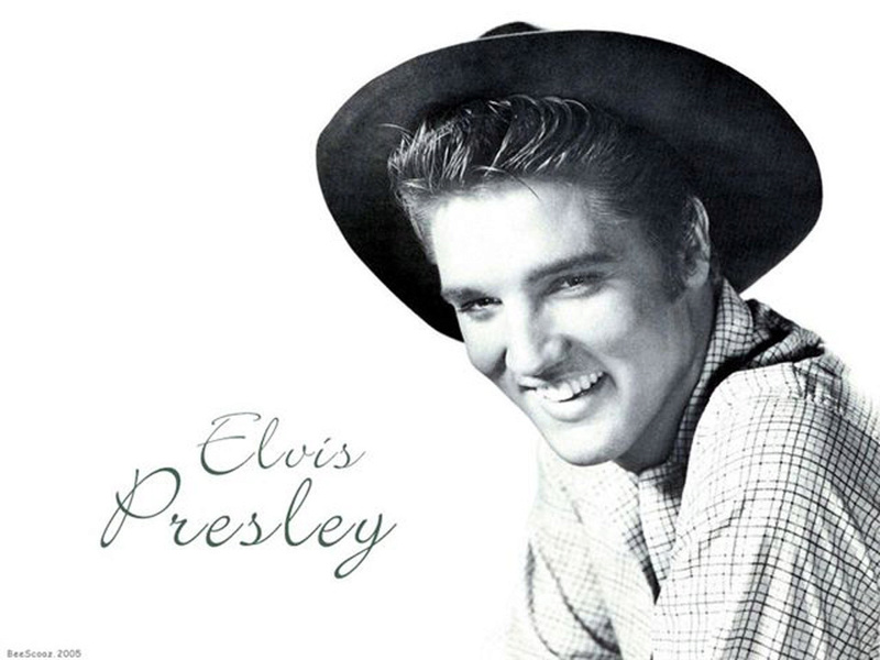 """Elvis Presley The Controversial King Of Rock And Roll that capitalised on Black folk music from the deep south.  In Elvis's own words """"The colored folks been singing it and playing it just like I'm doin' now, man, for more years than I know Young-11"""
