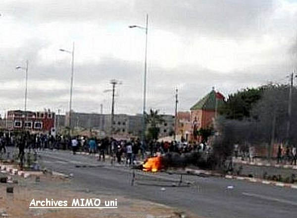 Invasion commune Sidi Bibi غزو جماعة سيدي بيبي من طرف السكان الغيورين Sidibi14