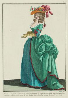 robes XVIIIe: styles, couleurs et matières  0deec610