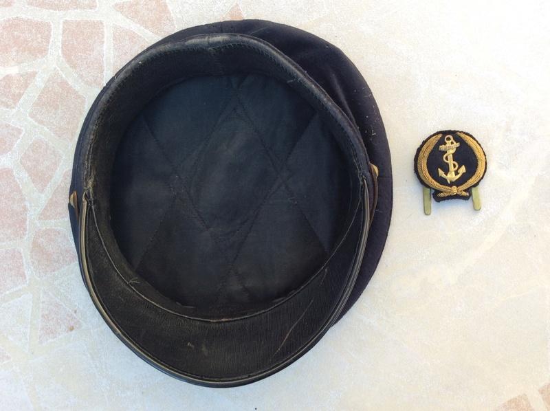 Casquette, boutons pattes de col, insigne aéronavale années 60- ESC 1 baisse TERMINEE  Img_1311