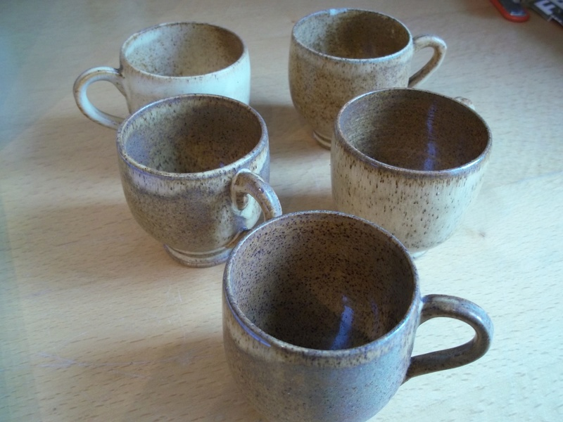 small brown coffee cups - Reginald Lewis, Birmingham  100_1613