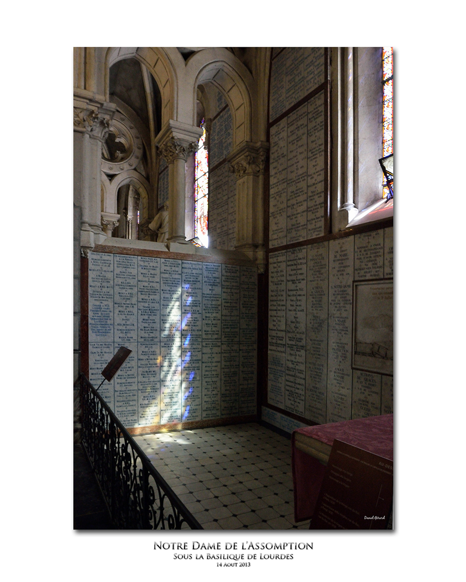 Baisse de fréquentation à Lourdes Crypte10