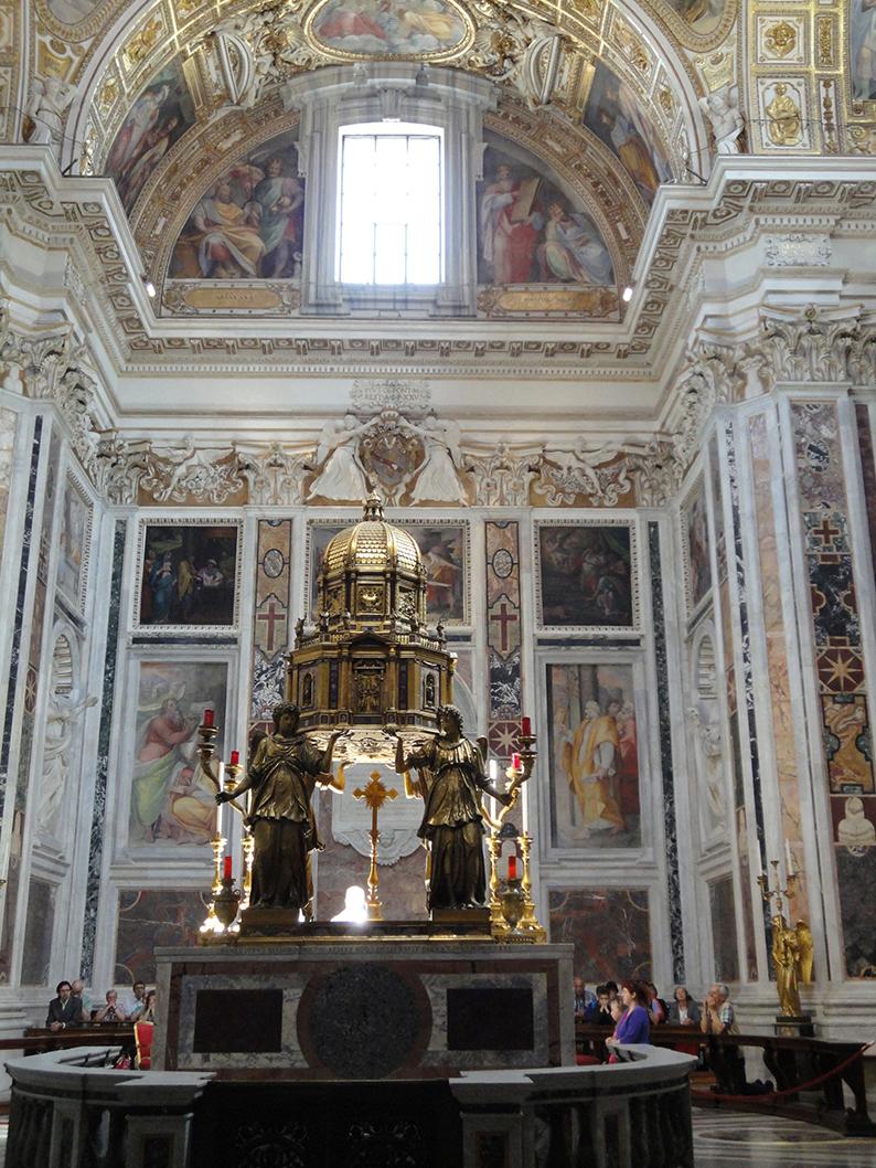 La Transfiguration, les Sacrements de l'Eglise Catholique. Dsc01620