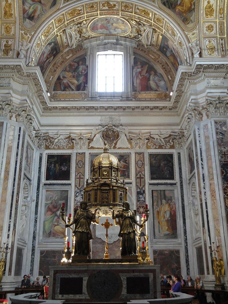 La Transfiguration, les Sacrements de l'Eglise Catholique. Dsc01621