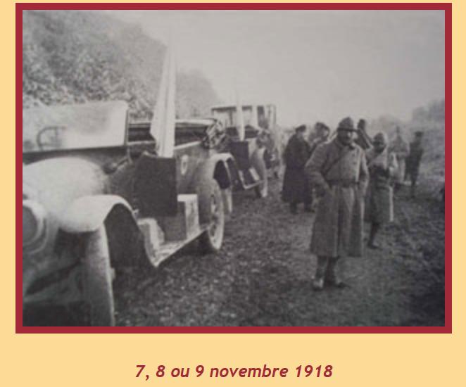 Georges Labroche du 19° B.C.P. 3ème clairon de l'Armistice. Gl10