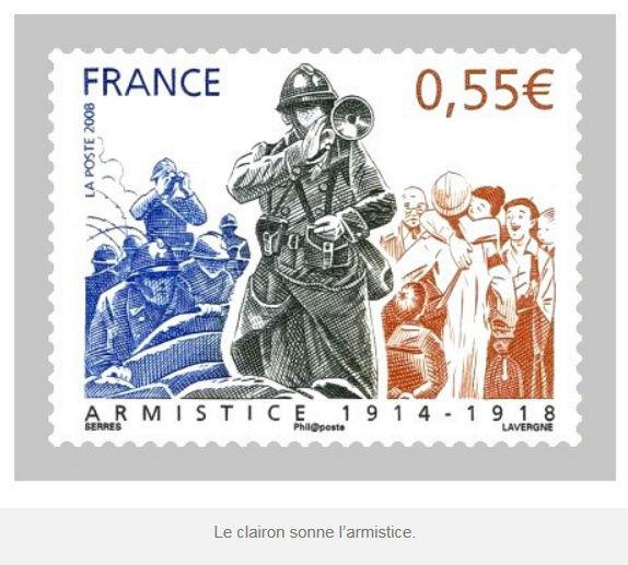 Octave Delaluque, clairon de l'Armistice. Od110