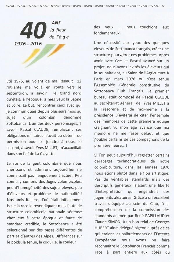 Le Sottobanca Banca Club Français fête  ces 40 ans (1976 - 2016 )  par Mr Pascal CLAUDE Sans_t12